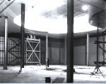 [An interior view of the Home Planning Hall in April of 1933. During the Fair, the Home Planning Hall