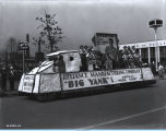 [The Reliance Manufacturing float parading down the Avenue of Flags at A Century of Progress...