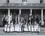 [The Daughters of the American Revolution Flag Day celebration at A Century of Progress...