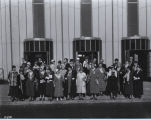 [Group photo of the Federation of Women's Club.]