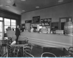 [One of the soda shops on or nearby the Century of Progress fairgrounds.]