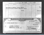 [The Standard Oil check written to A Century of Progress to purchase $16,000 worth of souvenir and...
