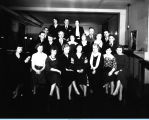 [The Century of Progress Pass Department assembles for a group photograph. The photo is undated.]