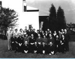 [Employees from the Concessions Department pose for a group photograph. The photo is undated.