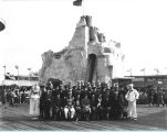 [Security guards from A Century of Progress pose for a group photograph at the Enchanted Island...