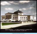 [Photo of the Field Museum of Natural History in Chicago. The Field Museum opened in 1893 as part of