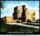 [The Lumber Industries exhibit at the Century of Progress.