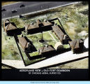 [Aerial view of the Old Fort Dearborn exhibit.]