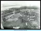 [Photo showing A Century of Progress under construction.]