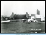 [View of the Hall of Science under construction in 1931.]
