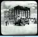 [Construction of an unidentified building in preparation for A Century of Progress.]