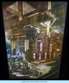 [A mural representing industry and industrialization. This picture depicts a the workshop floor of a