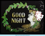 Color illustrated Goodnight sign