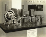 An Electric Eye Size Sorter at the exhibit of the Electric Light and Power Industry