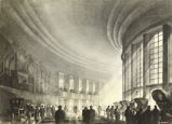 """Ford's 'Drama of Transportation' in New World's Fair. This is a conception by Hugh Ferriss..."