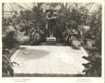 [Statue of Ponce de Leon at the Horticultural Building Exhibit, Century of Progress International Exposition,