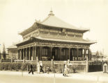 [Chinese Lama Temple, a replica of the Tibetan-styled Potala palace in the former Chinese province of