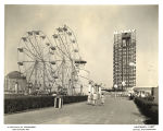 [Photo of the Midway and the Ferris wheel at the Century of Progress.]