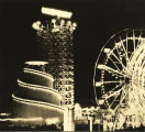 [Photo of the Century of Progress Midway taken by William Burton Larsen. This photo was part of...