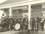 """World's Fair crowds today (Saturday) were entertained by the spirited band from the Soldiers..."