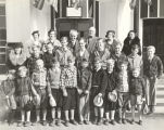 """Orphans from the Lydia Children's Home at 4300 Irving Park Boulevard visited the World's Fair today"