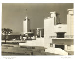 [Front facade of the Hall of Science at A Century of Progress International Exposition, 1933-1934.]