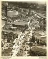 [Aerial view of the Century of Progress. The Streets of Paris, one of the most popular exhibits at...