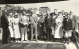 """When 140 members of the Staten Island (New York) Chamber of Commerce arrived at the World's Fair recently,"