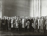 [A visiting delegation to A Century of Progress International Exposition, ca. 1933-1934.]