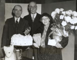 """Mrs. Helen Reid of 808 East 42nd street, was the 16th and last millionth visitor to the World's Fair"