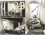 [The Hupmobile exhibit at A Century of Progress International Exhibition, 1933-1934.]
