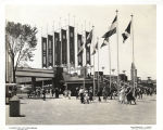 [The 23rd Street entrance to the Century of Progress International Exposition, 1933-1934.]