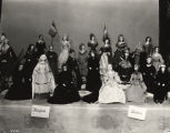 [Figurines at the Art & Costume Collection exhibit at A Century of Progress International...