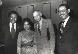 Addie Wyatt, Bill Berry, James Compton, and the Reverend Kenneth B. Smith