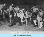 A Group of Greek Wrestlers - Hull-House Gymnasium