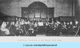 Hull-House Orchestra on the Bowen Hall Stage
