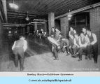 Bowling Match - Hull- House Gymnasium