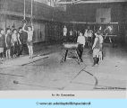 In the Gymnasium