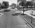 Traffic Intersection at Sheridan Road and Touhy (image 01)