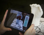 Development of an Augmented Reality Application for Complex Anatomical Visualization