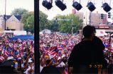 Puerto Rican Political Rally