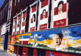 Murals displayed at Centro Cultural