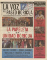 La Voz del Paseo Boricua; February 2008; vol. 4, no. 10