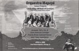 Orquestra Mapeyé Concert Program