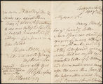Letter (September 7, 1812), pages...