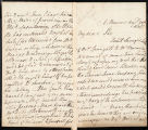 Letter (August 25, 1808), pages...