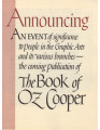 Announcement of the Publication of the Book of Oz Cooper