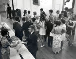 Campus Photograph Collection: Commencement Reception, 1972