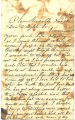 Chandler Family Papers: Letter, Charles Chandler to Louisa Chandler, 1874-11-10