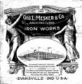 Geo. L. Mesker & Co. Architectural Iron Works 1903 Catalog